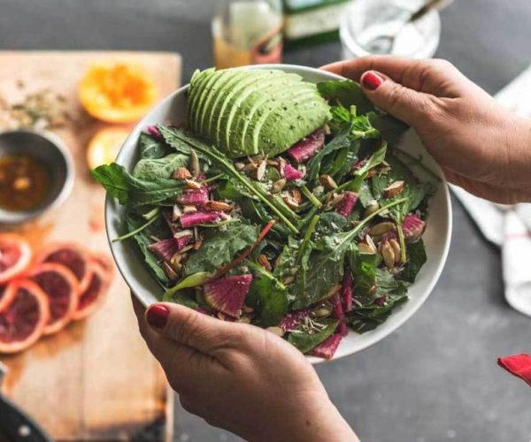 Fit healthy self-cooked meals